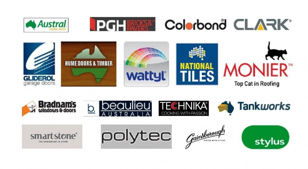 Supplier Logos on one page